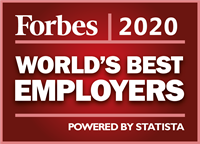 Forbes - World's Best Employers 2020 - Powered by Statista