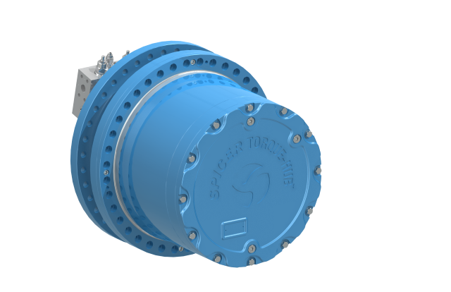 Spicer® Torque-Hub® track drive for cranes